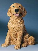 RIF364 Golden Retriver Hund Figur