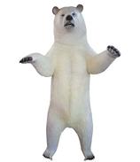 RIA668B Eisbär Figur lebensgroß