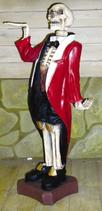 RIPO10 Skelett Butler Figur