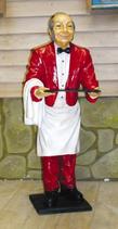 RIPO07 Kellner Figur