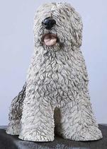 RIF164 Bobtail Hund Figur