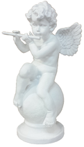 90370 Engel Figur mit Flöte