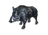 520050 Wildschwein Figur lebensgroß steht