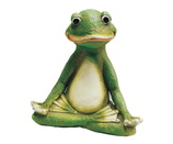 RIB274 Frosch Figur Yoga