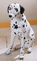 RIF185 Dalmatiner Hund Figur