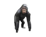 134010 Gorilla Figur lebensgroß