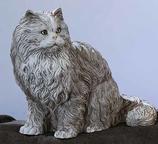 RIF163G Katze Figur