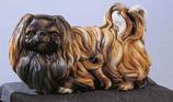 RIF90M Pekinese Hund Figur