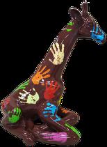 RISCD002 Giraffe Figur liegt