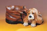 RIF386 Cocker Spaniel Hund Figur