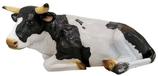 RIGBA018 Kuh Figur lebensgroß liegt