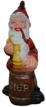 M007 Gartenzwerg Figur Bierfass