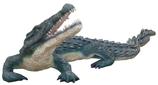131020 Krokodil Figur lebensgroß