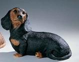 RIF323N Dackel Welpe Hund Figur