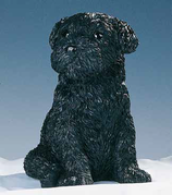 RIF372N Bouvier Welpe Hund Figur