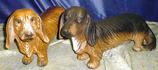RIPS38 Dackel Hund Figur lebensgroß