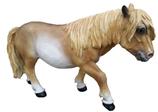 RIA531 Pferde Figur Deko Garten Gastro Werbe Figur