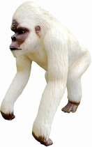 RIA283 Gorilla Figur weiß