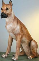 RIF180 Dogge Hund Figur