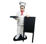 RIPO03A Koch Figur mit Tafel