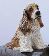 RIF175 Cocker Spaniel Hund Figur