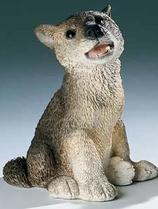 RIF313 Wolf Welpe Figur