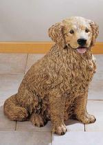 RIF215 Golden Retriver Hund Figur