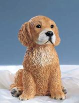 RIF339 Golden Retriver Hund Figur