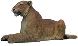 RIA269 Löwin Figur lebensgroß