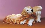 RIF357 Golden Retriver Hund Figur