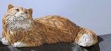 RIF165M Katze Figur