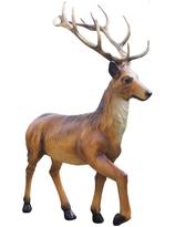 RI10A50 Hirsch Figur lebensgroß