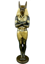 RIE70 Anubis Figur lebensgroß