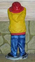 RIPO12 Junge Figur an der Wand