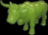 RISAB001 Kuh Figur grün