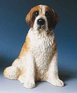 RIF363 Bernhardiner Hund Figur