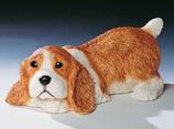 RIF346 Cocker Spaniel Welpe Hund Figur