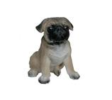 RIPS107 Mops Hund Figur klein