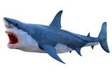 RIA2554 Hai Figur lebensgroß