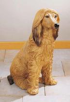 RIF184 Afgane Hund Figur
