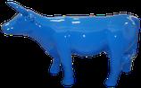 RISAB002 Kuh Figur blau