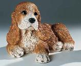 RIF245M Cocker Spaniel Welpe Hund Figur