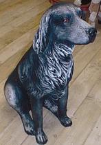 RIPS43 Münsterländer Hund Figur lebensgroß