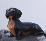 RIF169N Dackel Hund Figur