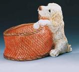 RIF385 Golden Retriver Hund Figur