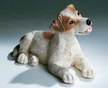 RIF326PM Jack Russel Welpe Hund Figur