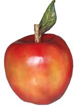 RI22A4 Apfel Werbefigur