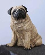 RIF232 Mops Hund Figur