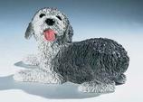 RIF325 Bobtail Welpe Hund Figur