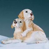 RIF374 Labrador Welpe Hund Figur